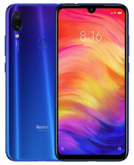 Смартфон Xiaomi Redmi Note 7 4/64Gb Global, синий