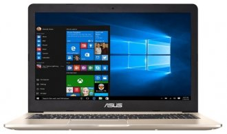 Ноутбук ASUS N580VD (Intel i5-7300HQ 2.5 GHz/15.6/1920x1080/8Gb/1Tb/DVDнет/GF GTX1050M/Wi-Fi/BT/W10)