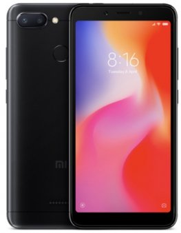 Смартфон Xiaomi Redmi 6 3/64Gb Global, черный