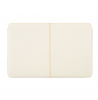 "Чехол Beyzacases Zero Series Leather Sleeve flo для Macbook Air 11"" white"
